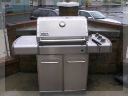 Weber Grill at Hotels in Cape May